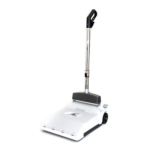 Mighty Mouth - Push Vacuum - Restaurant Sweeper - HEPA Filter
