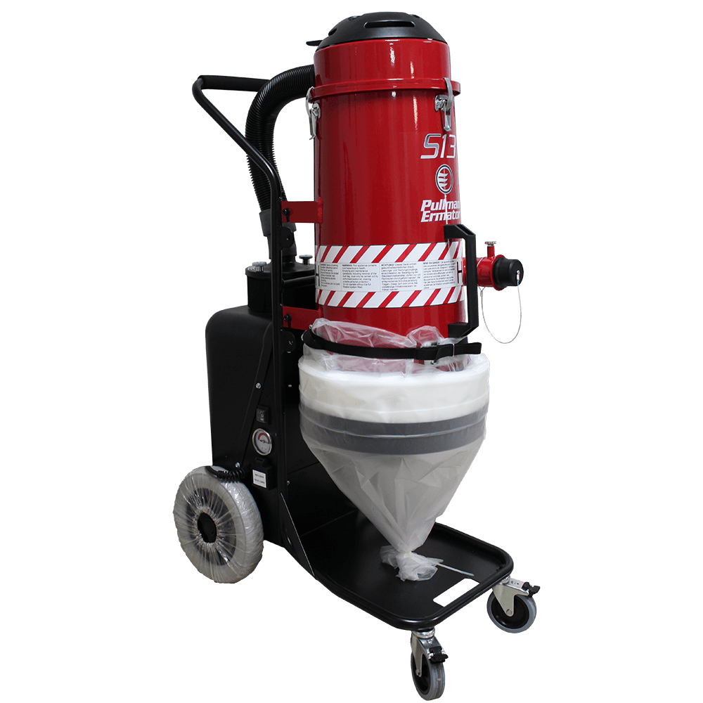 Pullman Ermator S13 Single-Phase HEPA Dust Extractor
