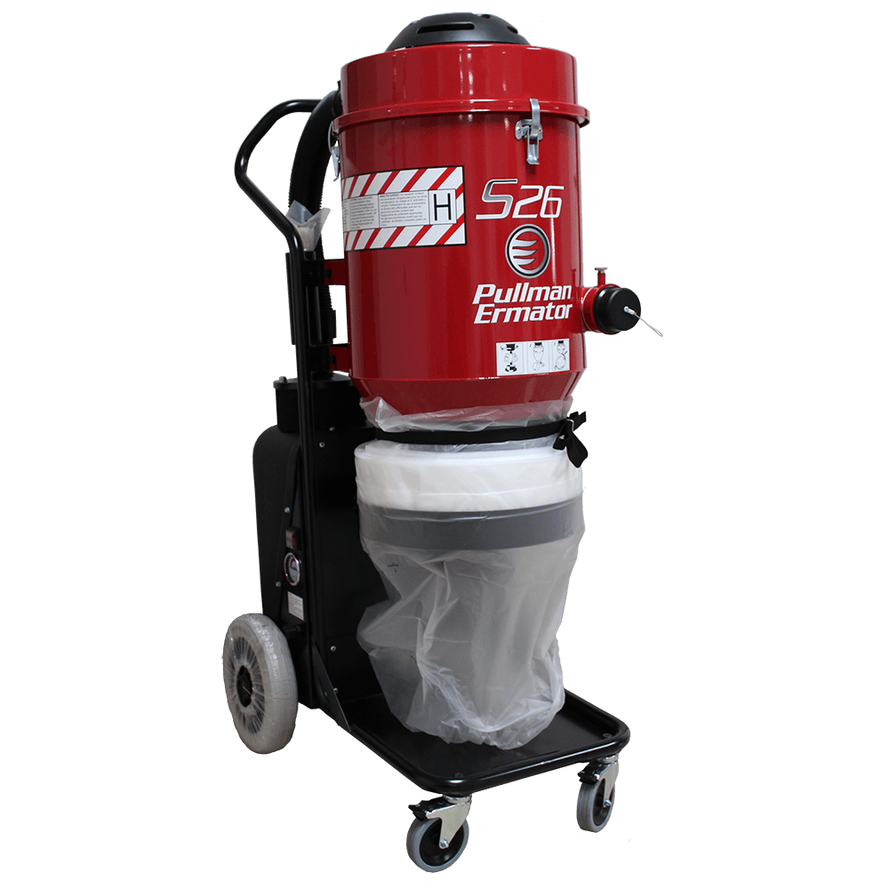 Pullman Ermator S26 - HEPA Vacuum - Dust Collection System