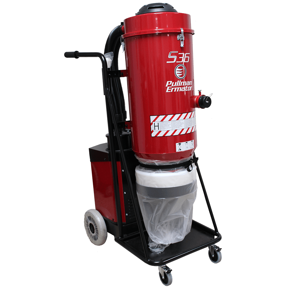 Pullman Ermator S36 Single-Phase HEPA Dust Extractor (230V)