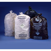 Asbestos Disposal Bags - 3.5 Mil - Black Printed 36x60
