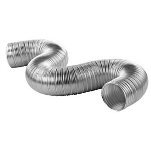 "Flex Air Duct - Flexible HVAC Ductwork - 8"" x 25"" Tube"