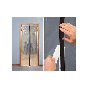 Zipwall   Zipper Door   Doorway   Dust Barrier System