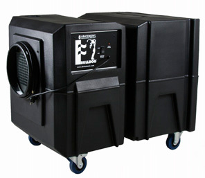 Abatement Technologies Bulldog BD2KM Negative Air Machine