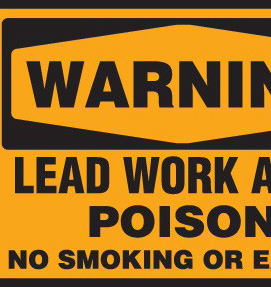 Lead Signs for Lead Abatement