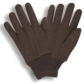 West Chester Brown Jersey Gloves 750